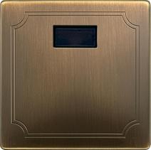 Сенсорная накладка с ИК-приемником Merten System Design Античная латунь