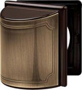 Merten SD Античная латунь Промежуточное кольцо с откидной крышкой