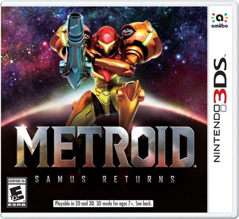 Игра Metroid Samus Returns (Nintendo 3DS)
