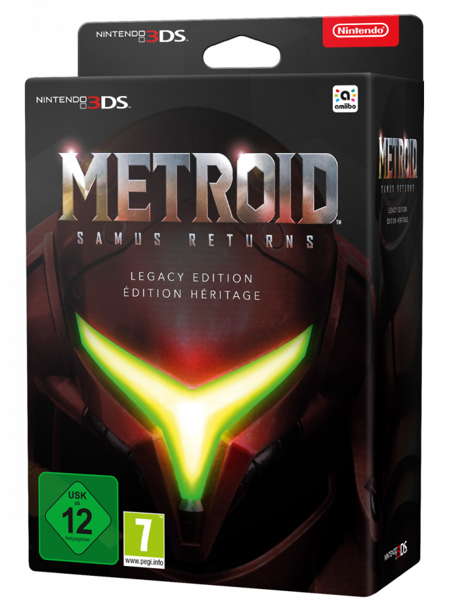 Игра Metroid Samus Returns. Legacy Edition (Nintendo 3DS)