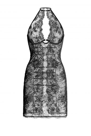 Арт.10258 ночная сорочка Babydoll с мягкими чашечками  на каркасах из коллекции Daniella Грация Рим