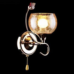 Бра ES 3457/1H золото/коричневый