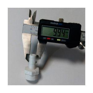 Штуцер 1/2 дюйма - 10 мм
