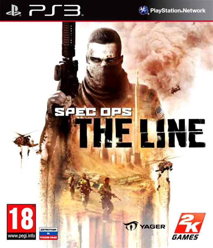 Игра Spec Ops The Line (PS3)