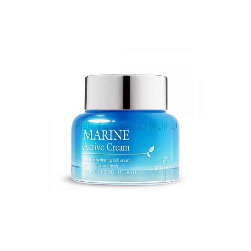The Skin House Marine Active Cream - Увлажняющий крем с морской водой