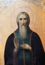 Галактион Вологодский (рукописная икона)