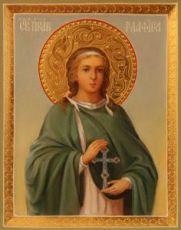Глафира Амасийская  (рукописная икона)
