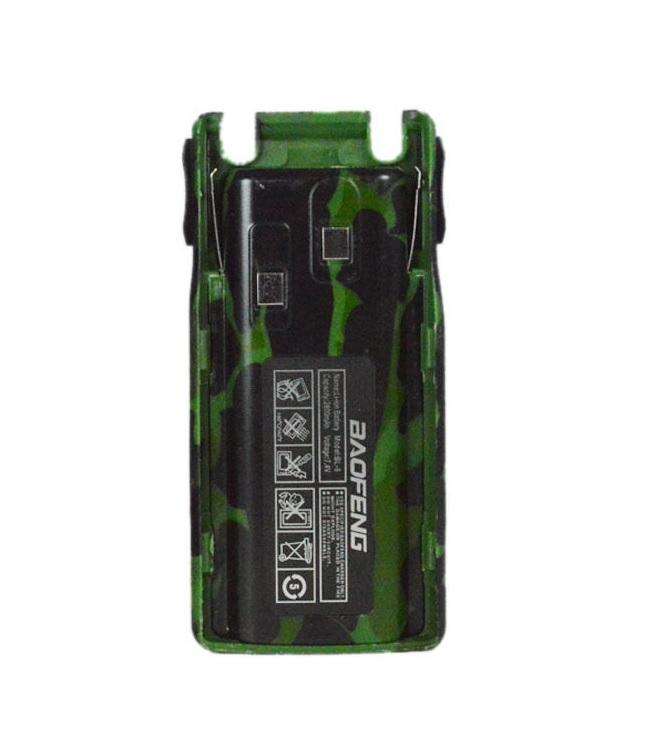 Аккумулятор BL-8 для рации Baofeng UV-82 (2800 мАч) зеленый