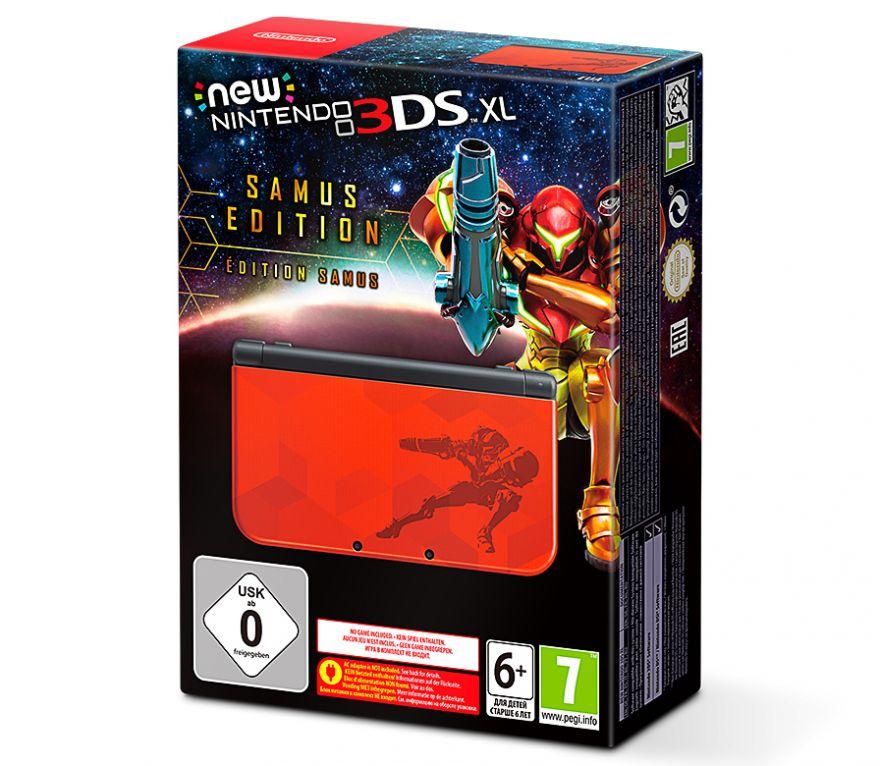 Игровая приставка New Nintendo 3DS XL Samus Edition