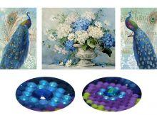 Цветочные павлины