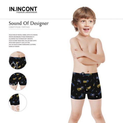 Трусы боксеры для мальчика 7-15 лет  INCONT  №INC3001
