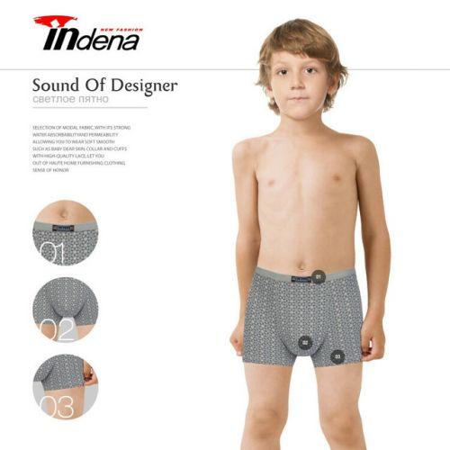 Трусы боксеры для мальчика 11-17 лет  INDENA  №IN75503