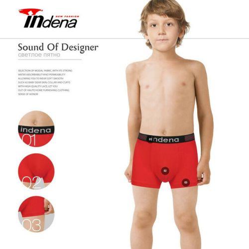 Трусы боксеры для мальчика 11-17 лет  INDENA  №IN75505