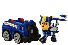 Фигурка Гонщика на полицейской машине с музыкой и светом (Щенячий патруль)
