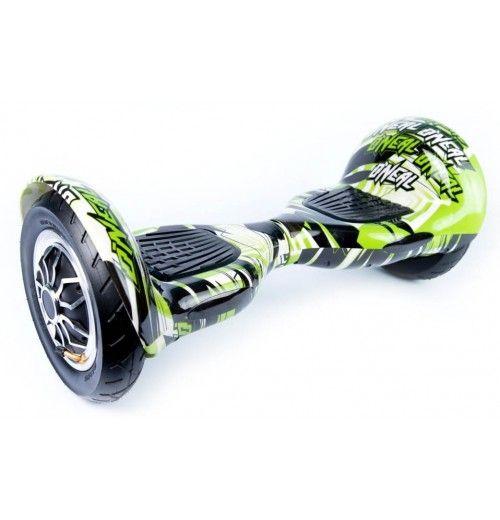 Гироскутер Smart Balance SUV 10 Граффити зеленый