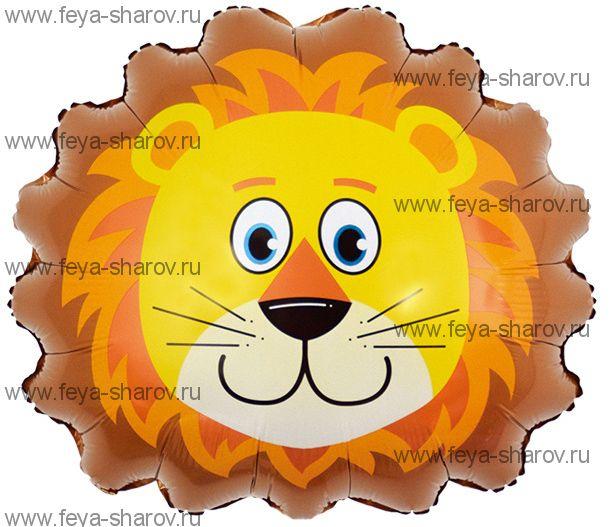 Шар голова Льва 74 см