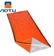 Фольгированное термо одеяло AOTU