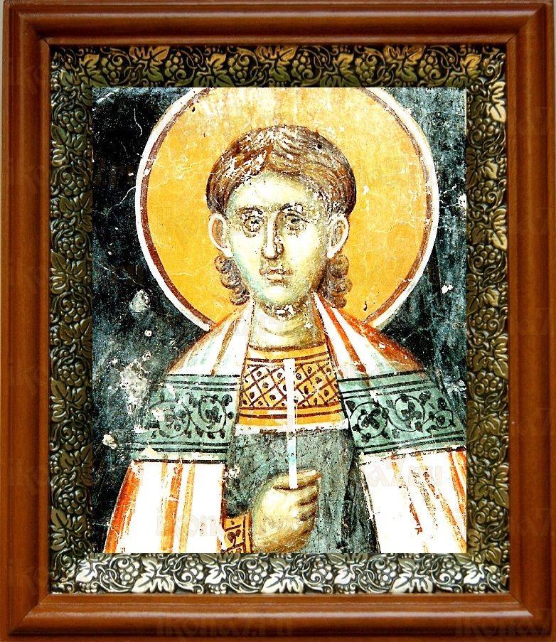 Вениамин Персидский (19х22), светлый киот
