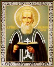 Елладий Печерский  (рукописная икона)