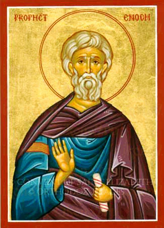 Енха Патриарх (рукописная икона)