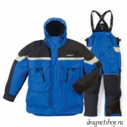 Clam Edge Cold Weather Suits Blue/Black