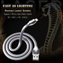 Кабель Remax RC-035 Laser Cobra Data Cable для iPhone и Android