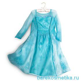 Платье Эльзы Frozen модель 2017 год