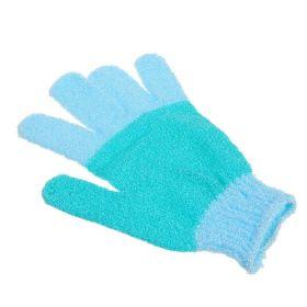 Мочалка-перчатка массажная цветная