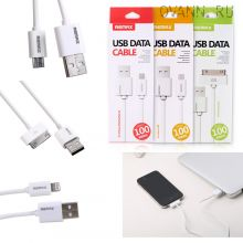 Кабель Remax USB Data Cable для iPhone, Android и iPad