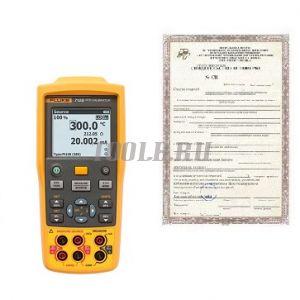 Поверка калибраторов-измерителей температуры и электрических сигналов