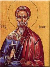 Ермий Команский (рукописная икона)