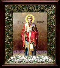 Власий Севастийский (21х24), киот со стразами