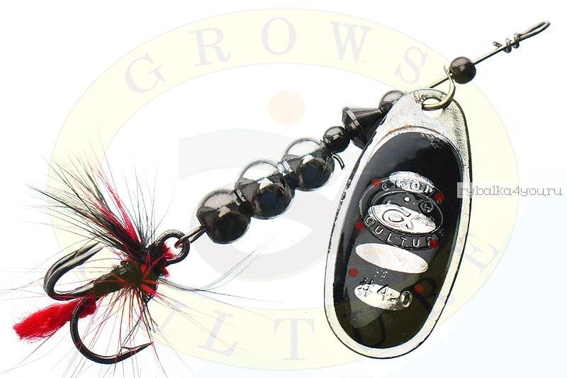 Купить Блесна Grows Culture Ball Bearing Spinner 3.0 # / цвет: №1 6,5 гр 3,2 см