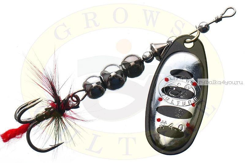 Блесна Grows Culture Ball Bearing Spinner 4.0 #   / цвет:  №2 / 11,5 гр / 4 см