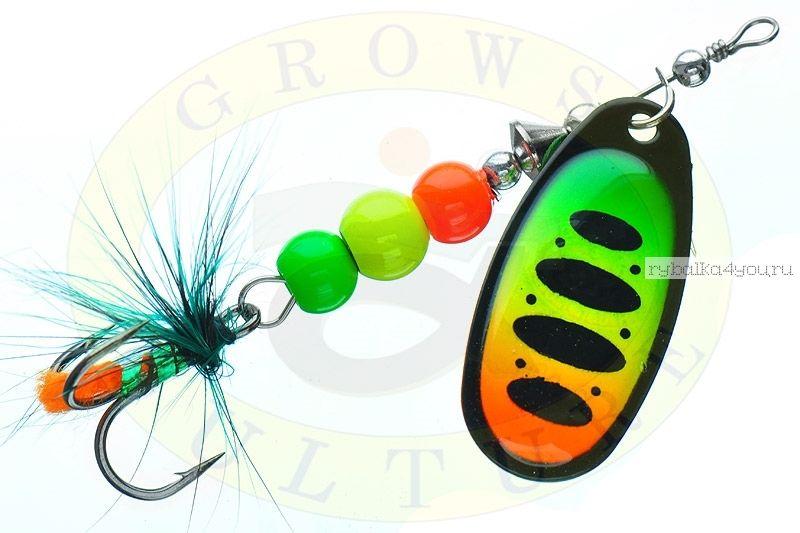 Блесна Grows Culture Ball Bearing Spinner 4.0 #   / цвет:  №3 / 11,5 гр / 4 см