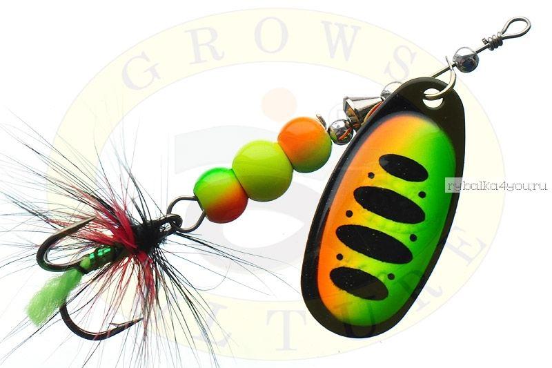 Блесна Grows Culture Ball Bearing Spinner 4.0 #   / цвет:  №4 / 11,5 гр / 4 см