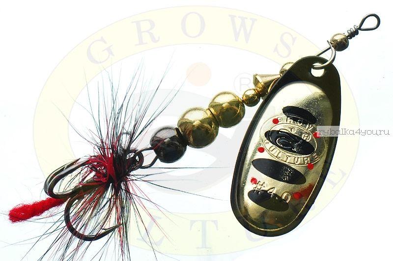 Блесна Grows Culture Ball Bearing Spinner 4.0 #   / цвет:  №5 / 11,5 гр / 4 см