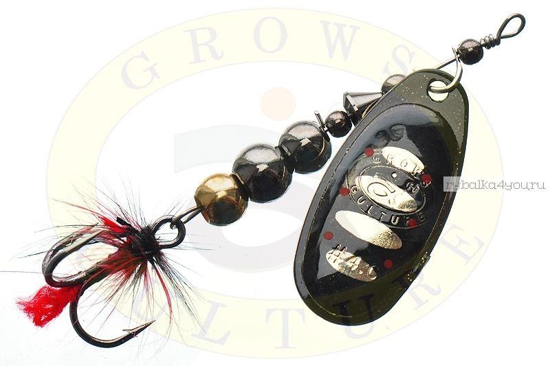 Блесна Grows Culture Ball Bearing Spinner 4.0 #   / цвет:  №8 / 11,5 гр / 4 см