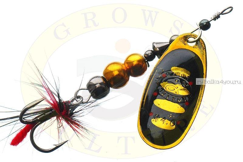 Блесна Grows Culture Ball Bearing Spinner 4.0 #   / цвет:  №9 / 11,5 гр / 4 см