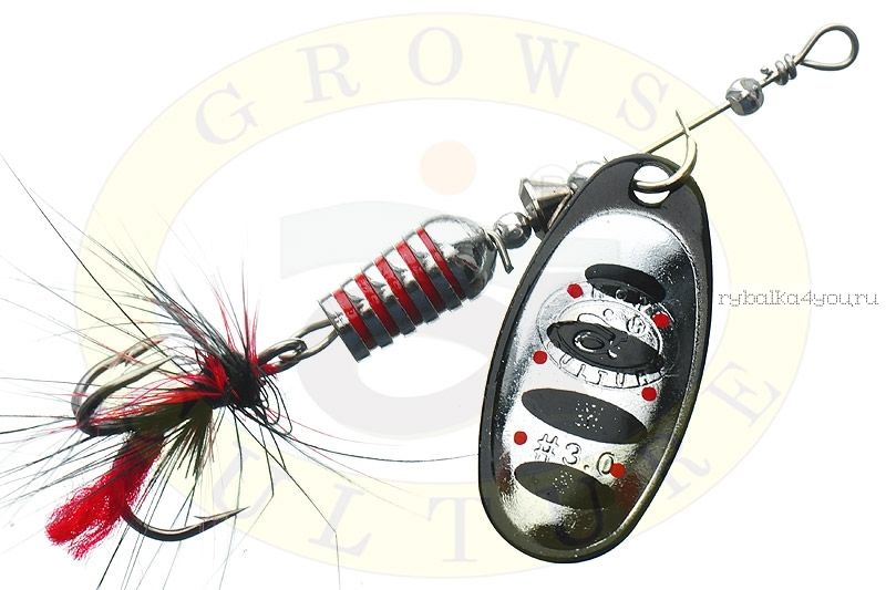 Купить Блесна Grows Culture Synchrony 2.5# / цвет: №2 6 гр 3,3 см