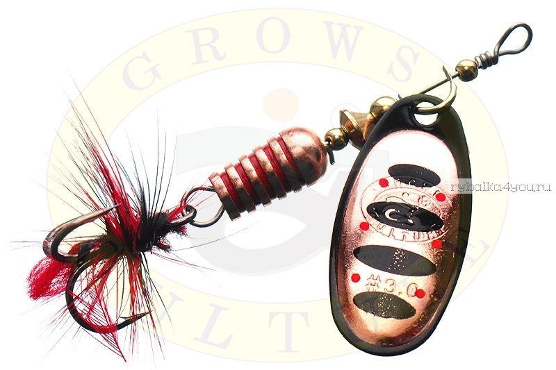 Купить Блесна Grows Culture Synchrony 2.5# / цвет: №10 6 гр 3,3 см
