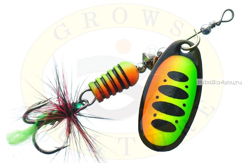 Блесна Grows Culture Synchrony 3.0# / цвет: №4 7 гр 3,3 см  - купить со скидкой