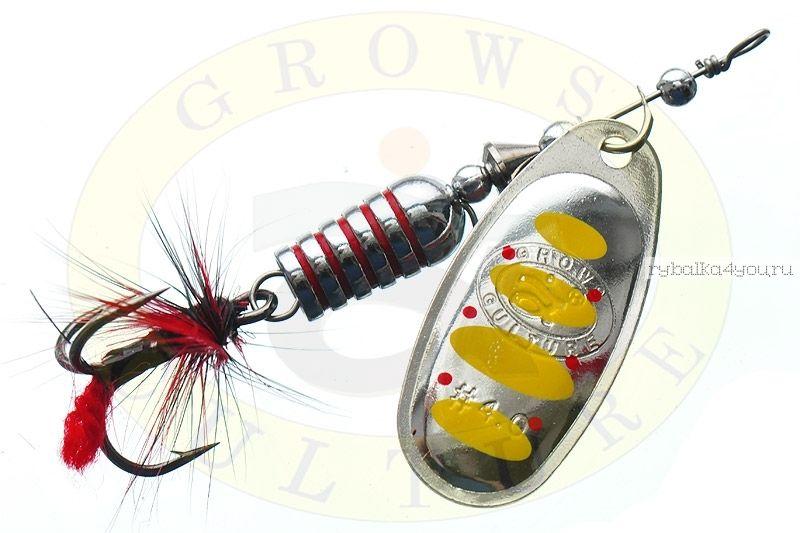 Купить Блесна Grows Culture Synchrony 3.0# / цвет: №6 7 гр 3,3 см