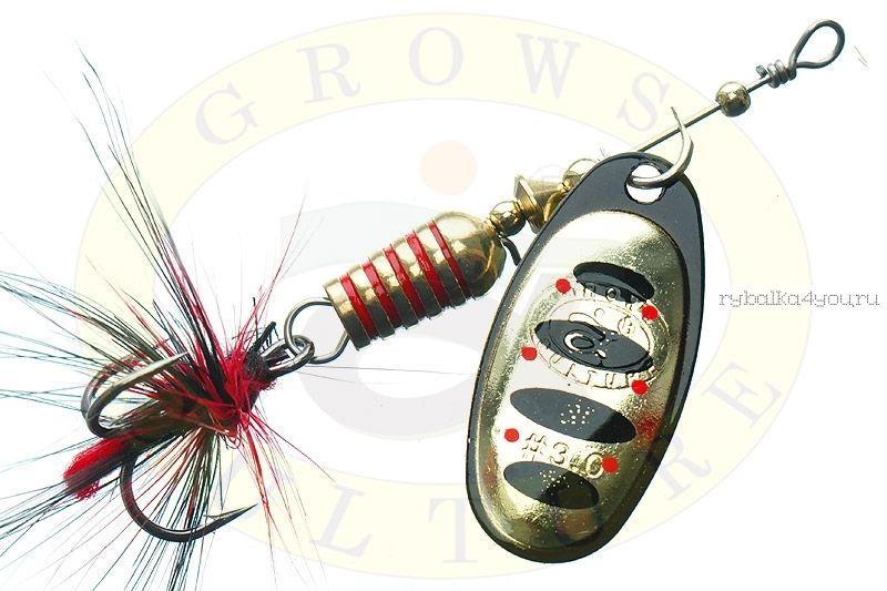 Купить Блесна Grows Culture Synchrony 3.5# / цвет: №5 9 гр 4 см