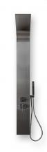 Душевая панель BYON 983 1650х200 нерж. сталь