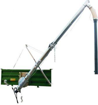 Шнековый транспортёр с гидроприводом T-458