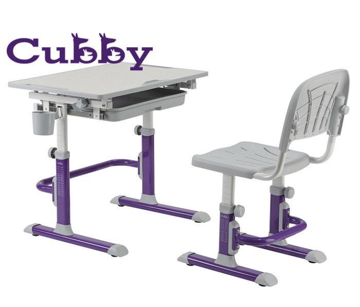 Растущая парта и стул cubby Lupin