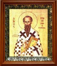Григорий Нисский (19х22), светлый киот