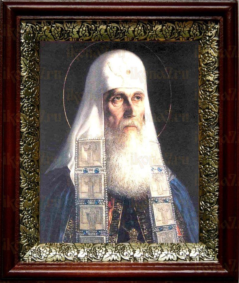 Ермоген, патриарх Московский (19х22), темный киот