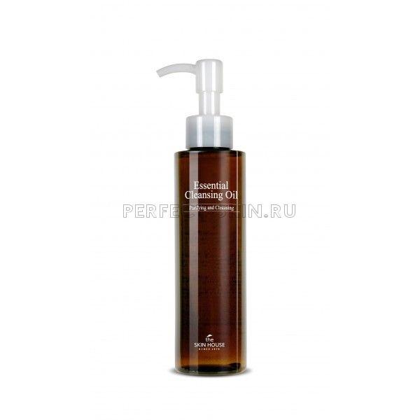 The Skin House Essential Cleansing Oil - Деликатное гидрофильное масло для очищения кожи